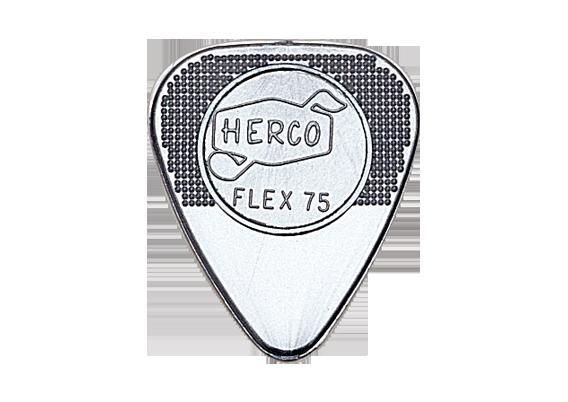 The Dunlop Herco Flex 75 Nylon Guitar Pick