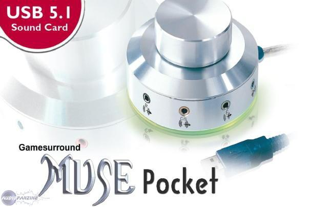 Hercules Gamesurround Muse Pocket Audio Drivers for Windows Download
