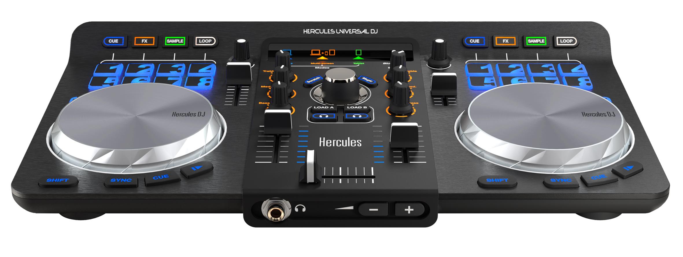 table de mixage hercules universal dj