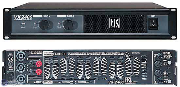 HK Audio VX 2400 file: HK VX2400 Schematics (berl) - Audiofanzine