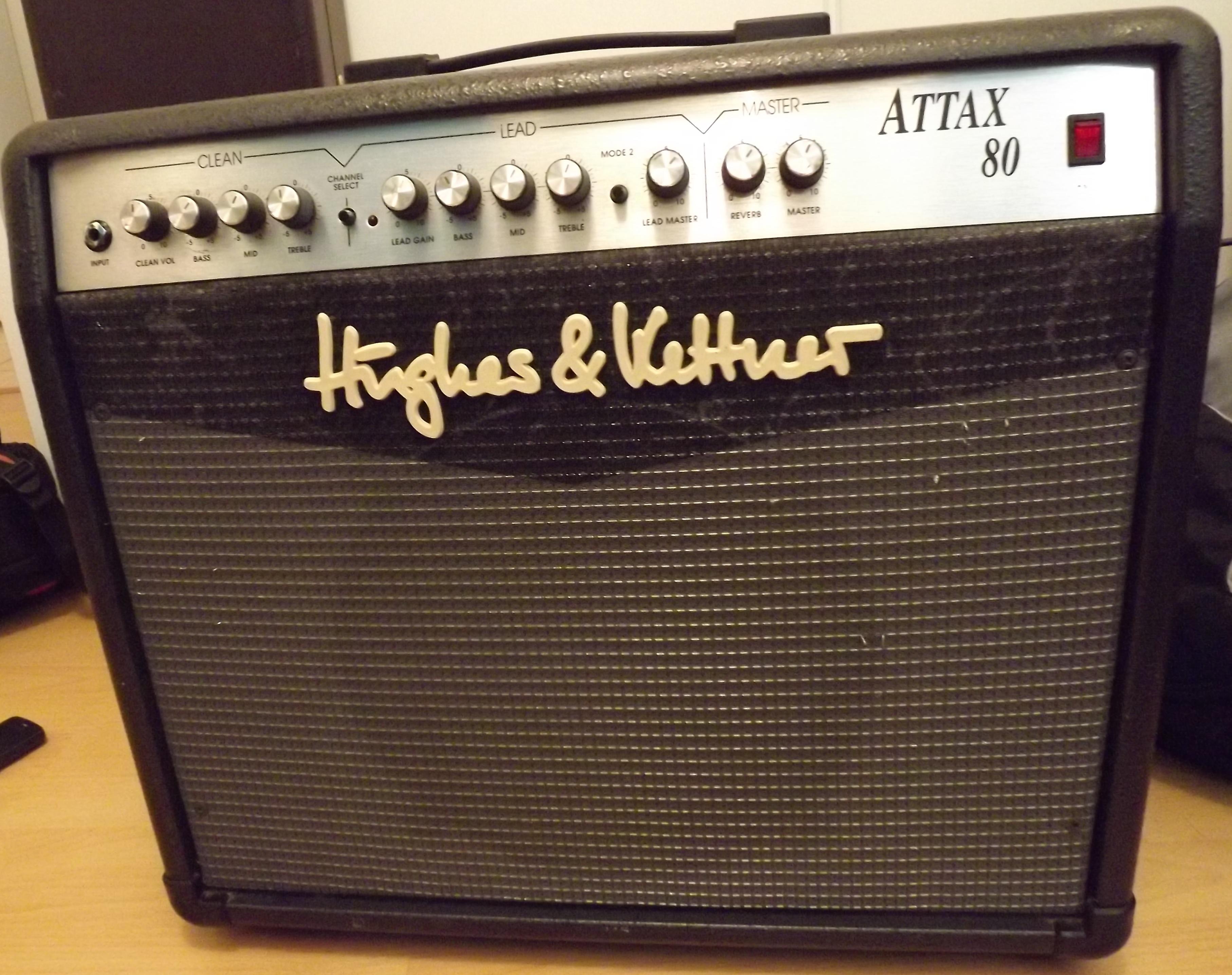 User reviews: Hughes & Kettner Attax 80 - Audiofanzine
