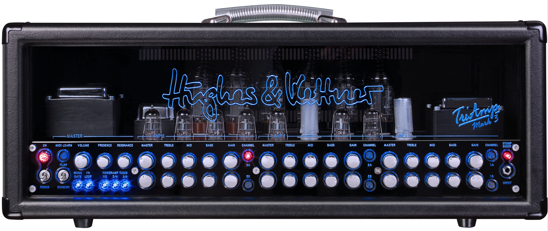 Audiofanzine Video On The Hughes Kettner Triamp Mark 3 Guitar Amp 20w Power Tube Amplifier With El34