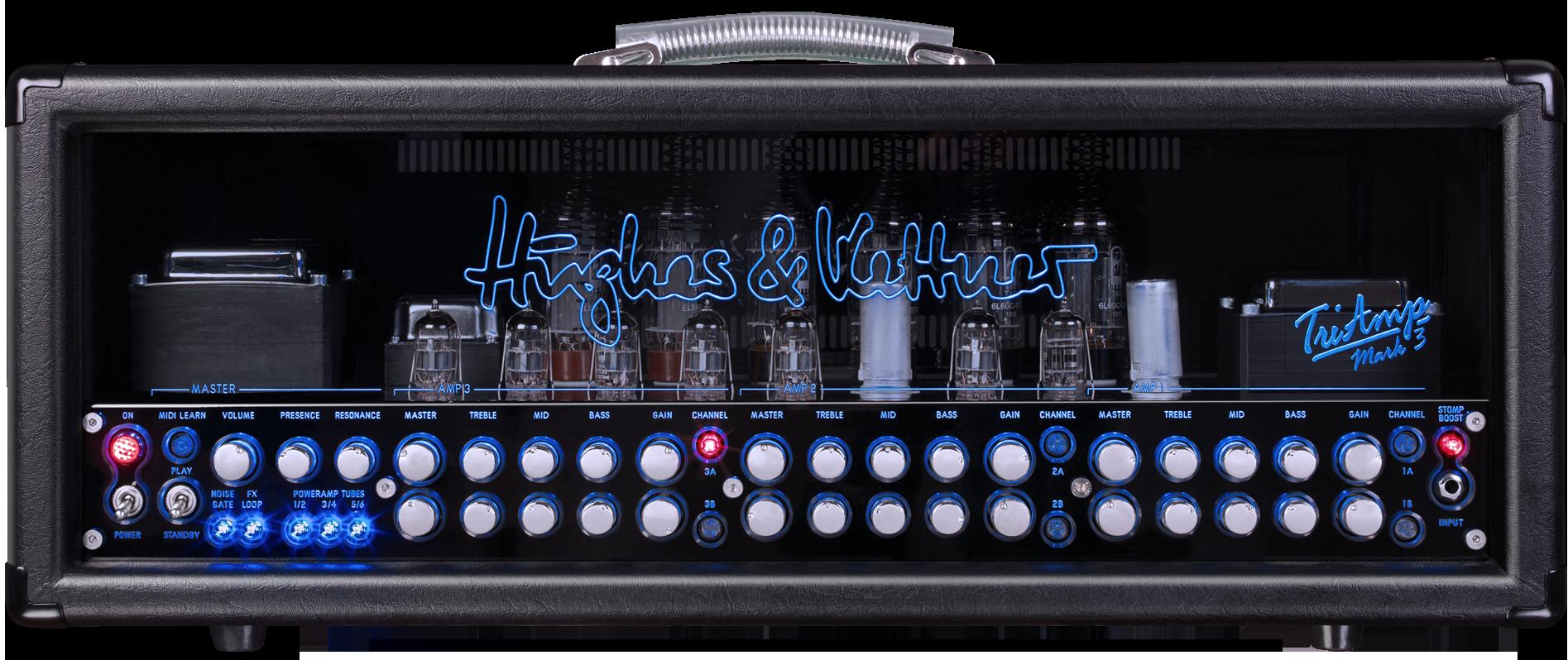 Audiofanzine video on the Hughes & Kettner TriAmp Mark 3