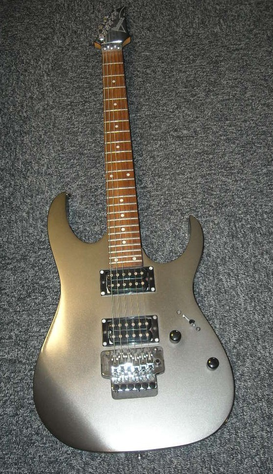 how to set up ibanez rg