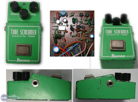 The original, the best  - Reviews Ibanez TS808 Tube Screamer