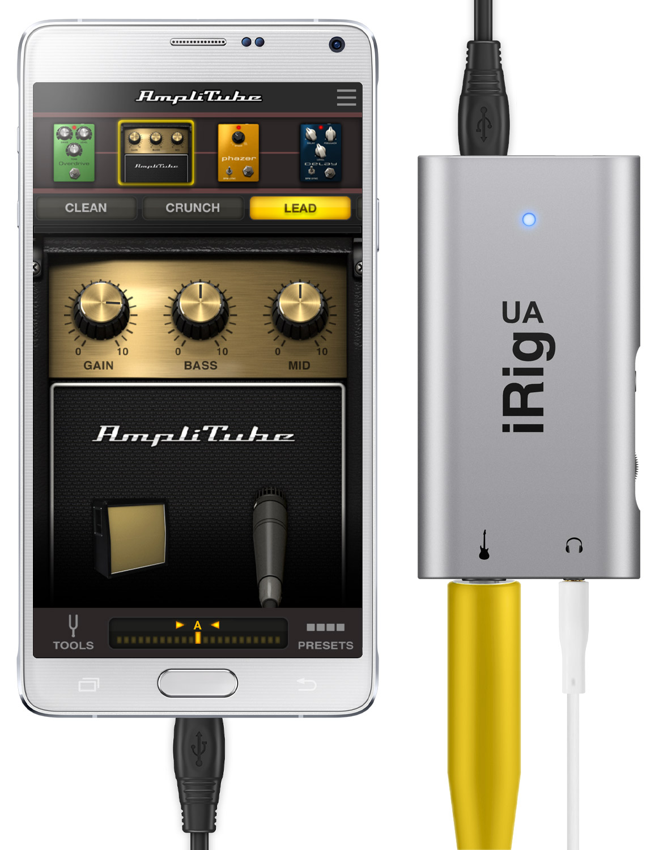 Ik Multimedia Irig Ua Guitar Interface And Amplitube Ua