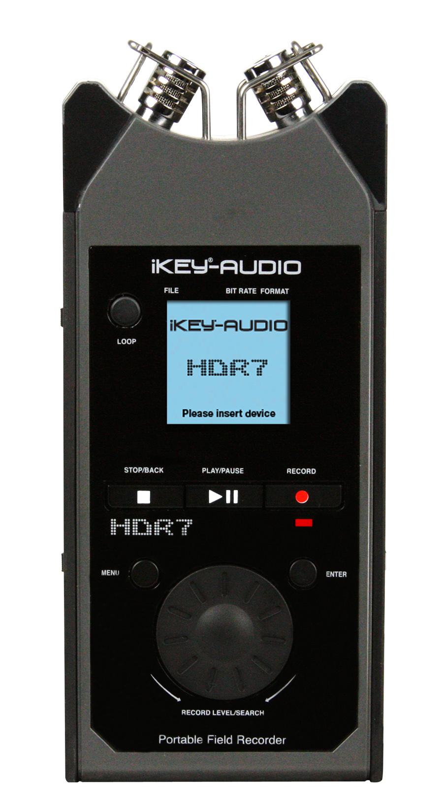 Ikey Hdr7 Recorder News Audiofanzine Pocket Vu Meter Audio