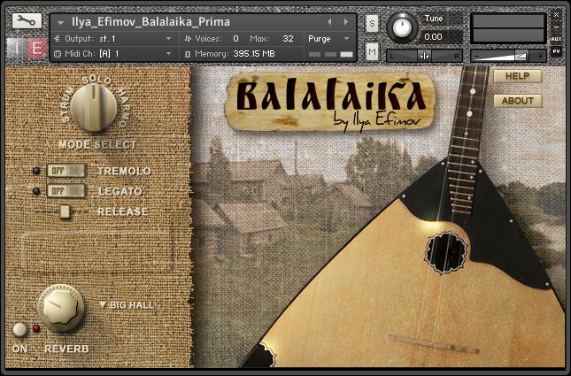 Ilya Efimov Sound Production Balalaika News Audiofanzine