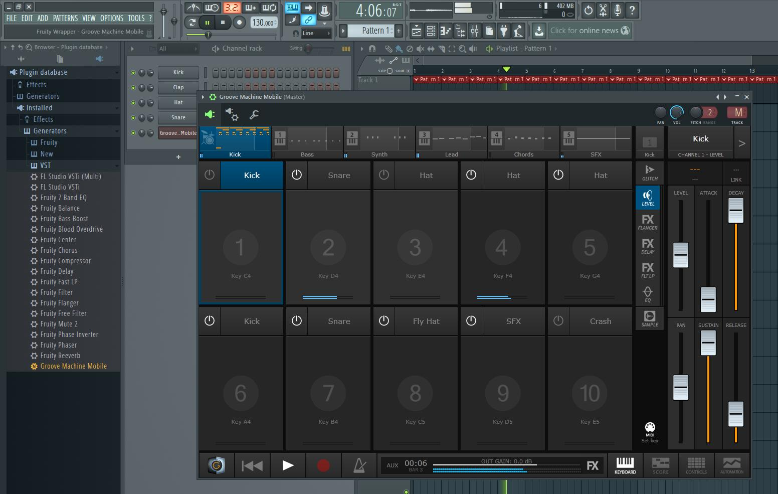 Virtual Drum Machine Sampler : image line updates groove machine mobile app and releases beta vst version audiofanzine ~ Vivirlamusica.com Haus und Dekorationen