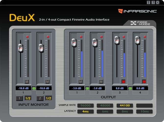Infrasonic DeuX Windows 8 X64 Driver Download