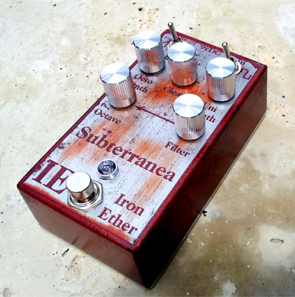 Electric Heating Iron Effect ~ Iron ether launches the subterranea pedal news audiofanzine