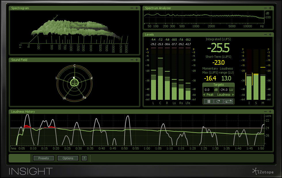 Videos iZotope Insight - Audiofanzine