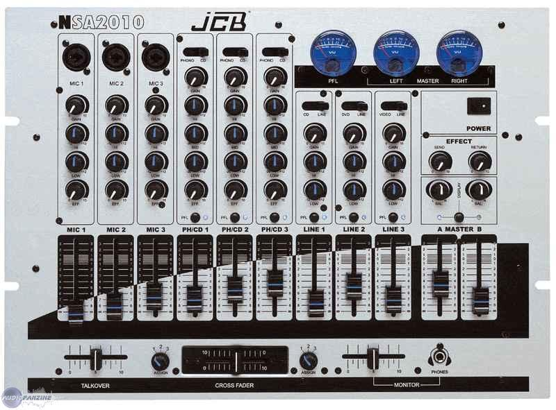 table de mixage jcb nsa 2010