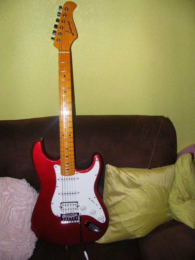 guitare electrique j m forest