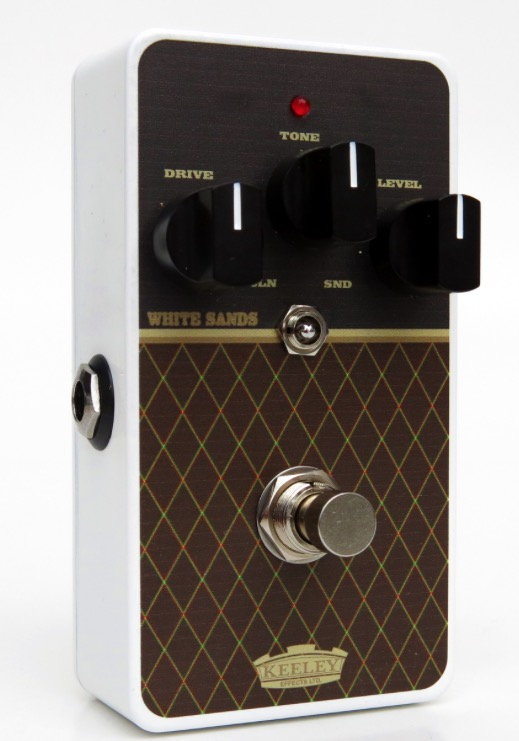 robert keeley white sands low gain overdrive pedal for guitar in limited vox finish edition. Black Bedroom Furniture Sets. Home Design Ideas