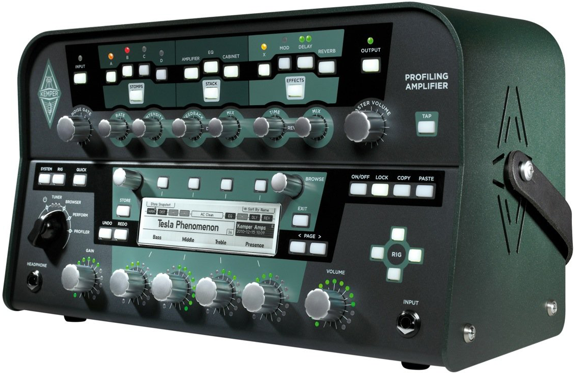 Kemper Profiling Amplifier Review : The Thing! - Audiofanzine