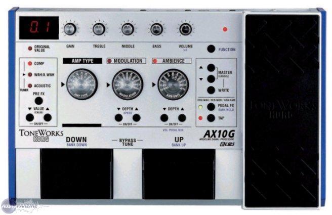 user reviews korg ax10g audiofanzine. Black Bedroom Furniture Sets. Home Design Ideas