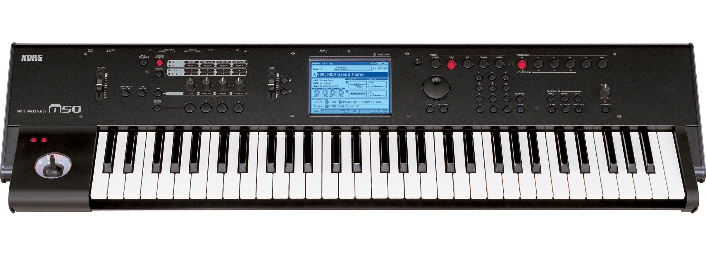 nel78 s review korg m50 61 audiofanzine rh en audiofanzine com Korg X50 Korg M50 for Bass Lines
