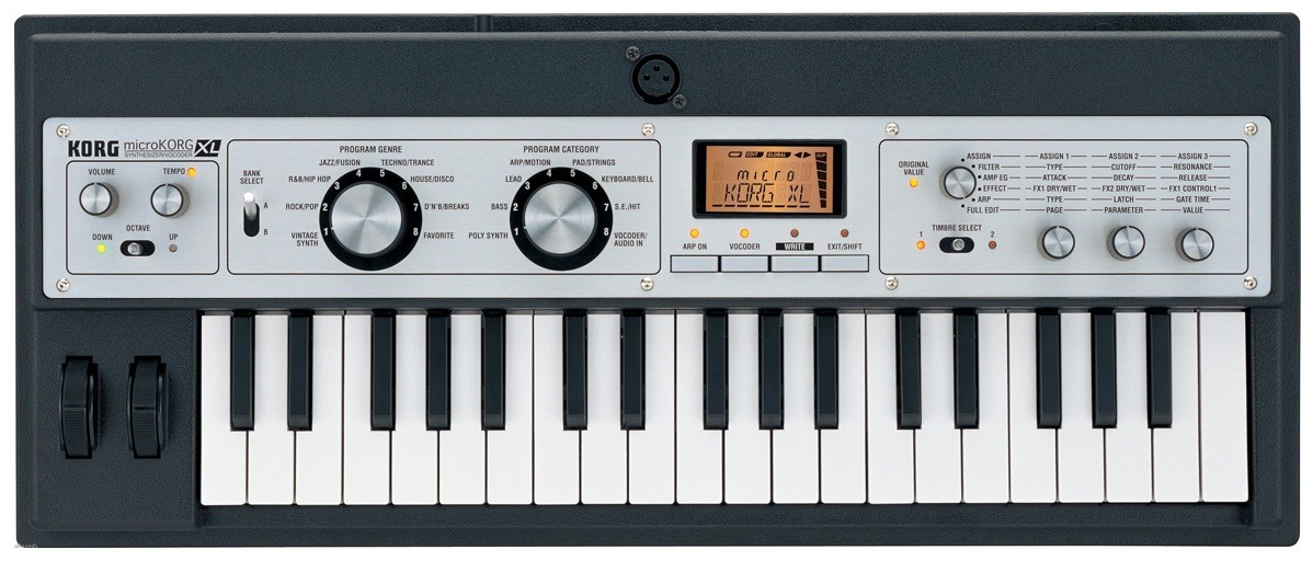 Vocoder to top - Reviews Korg microKORG XL - Audiofanzine