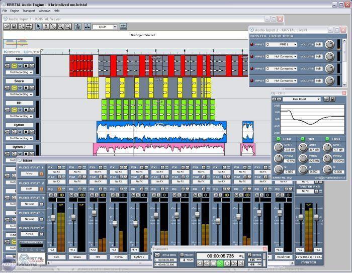 4a6f848353f Tutoriel : Prise en main de Krystal Audio Engine - Audiofanzine