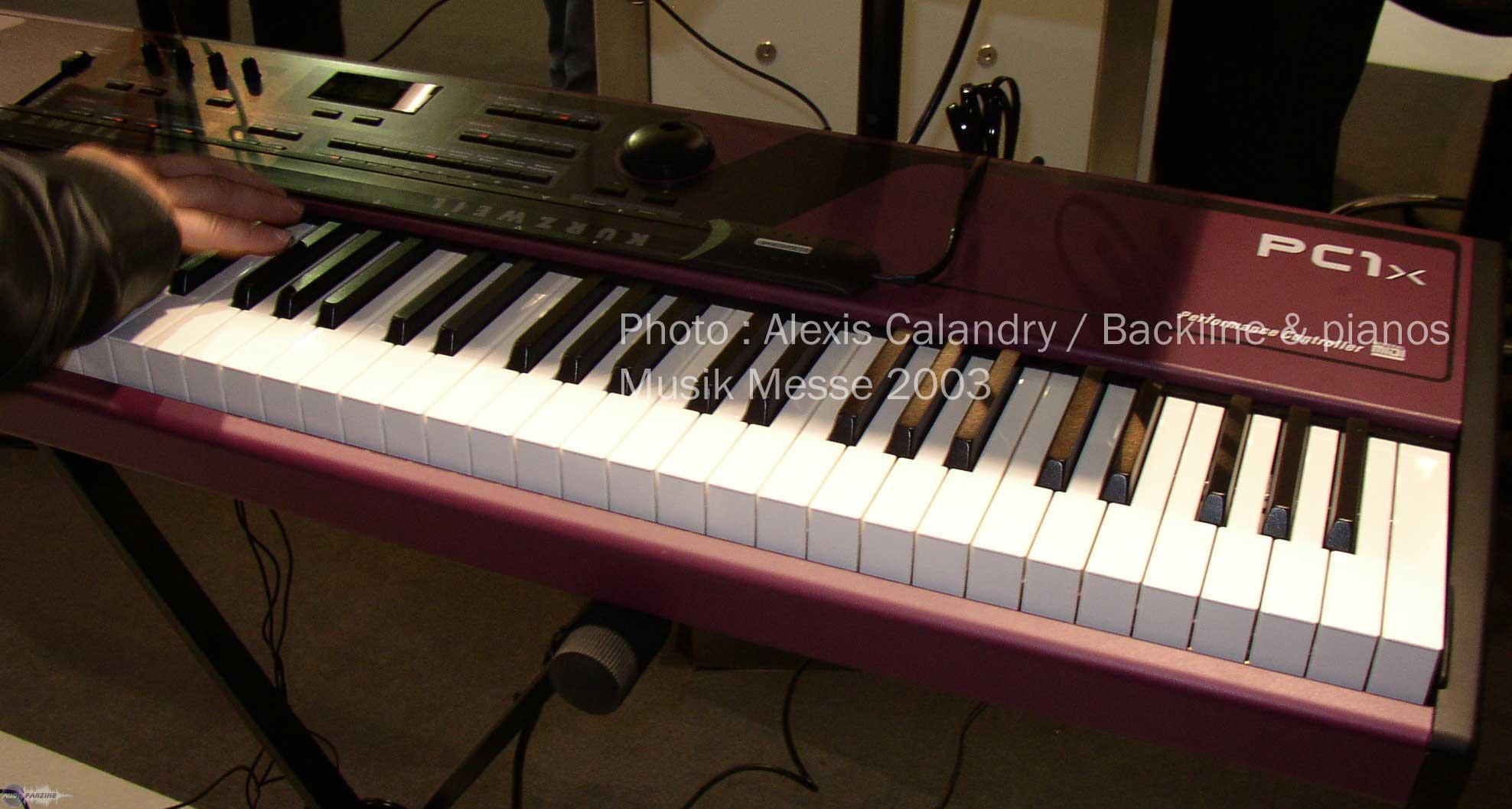 Pc1x Kurzweil Pc1x Audiofanzine