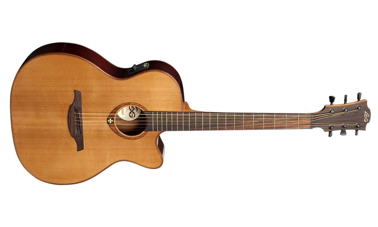 bonne petite guitare avis l g tramontane t100ace. Black Bedroom Furniture Sets. Home Design Ideas