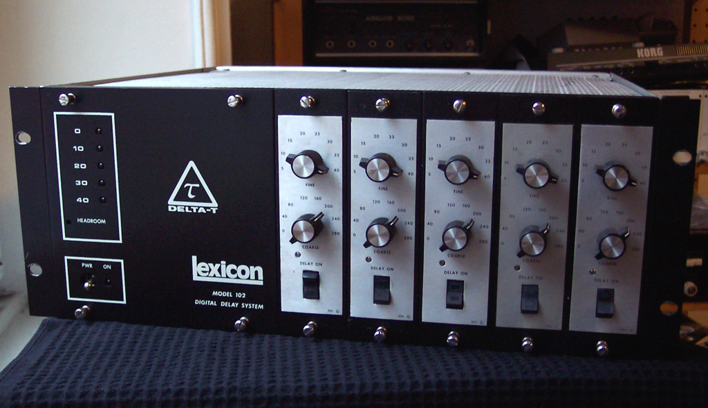 Delta-T 102 - Lexicon Delta-T 102 - Audiofanzine