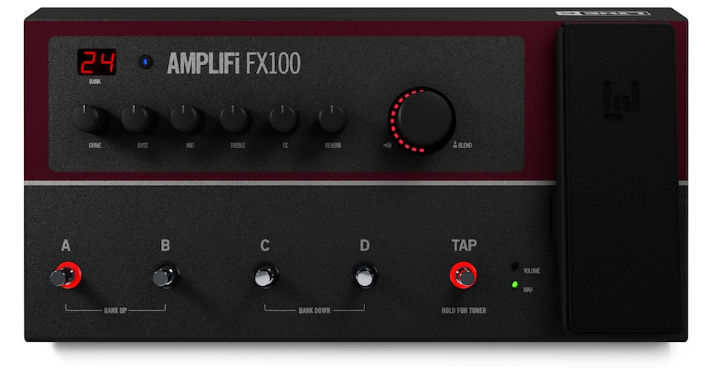 review of the line 6 amplifi fx100 a multi effects pedal in the palm of your hand audiofanzine. Black Bedroom Furniture Sets. Home Design Ideas