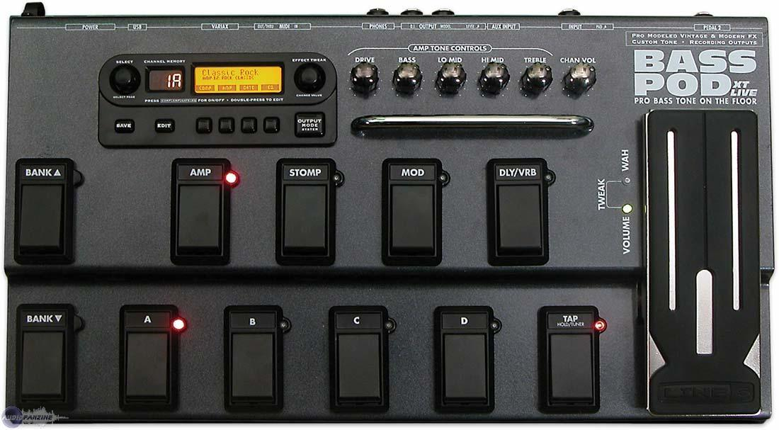 Line 6 bass pod xt live user manual midi manuals.