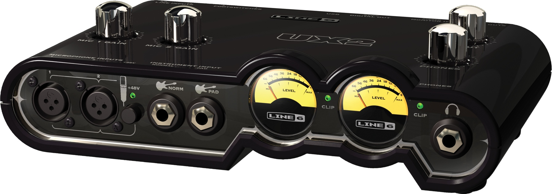 carte son line 6 toneport ux2