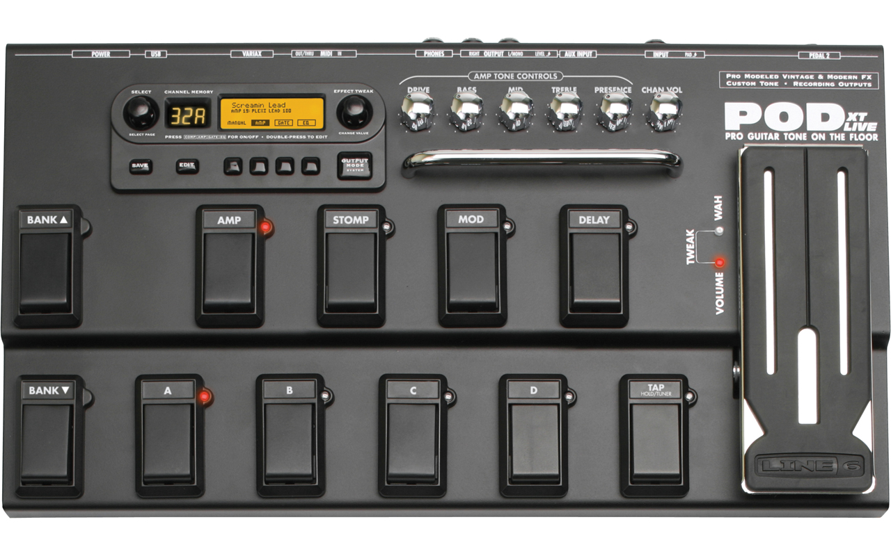 Amazon. Com: line 6 pod xt live: musical instruments.
