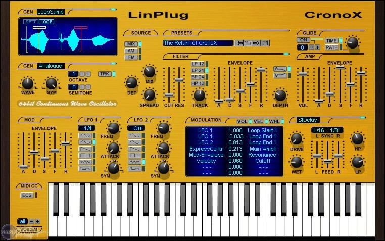 LinPlug Octopus v1.3.1 (VST AU) OSX Intel