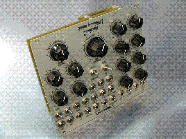 Audio Frequency Generator : Audio frequency generator livewire audiofanzine
