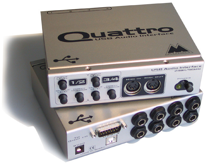 M-AUDIO QUATTRO USB WINDOWS 7 DRIVERS DOWNLOAD