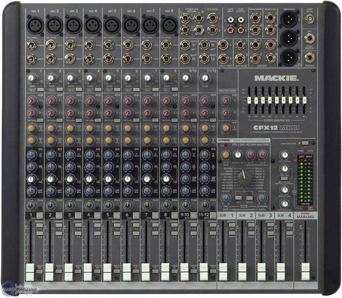 table de mixage analogique 8 pistes