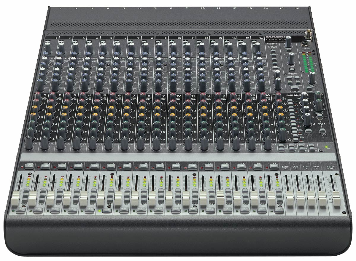 Onyx 1640 mackie onyx 1640 audiofanzine - Table de mixage avec carte son integree ...