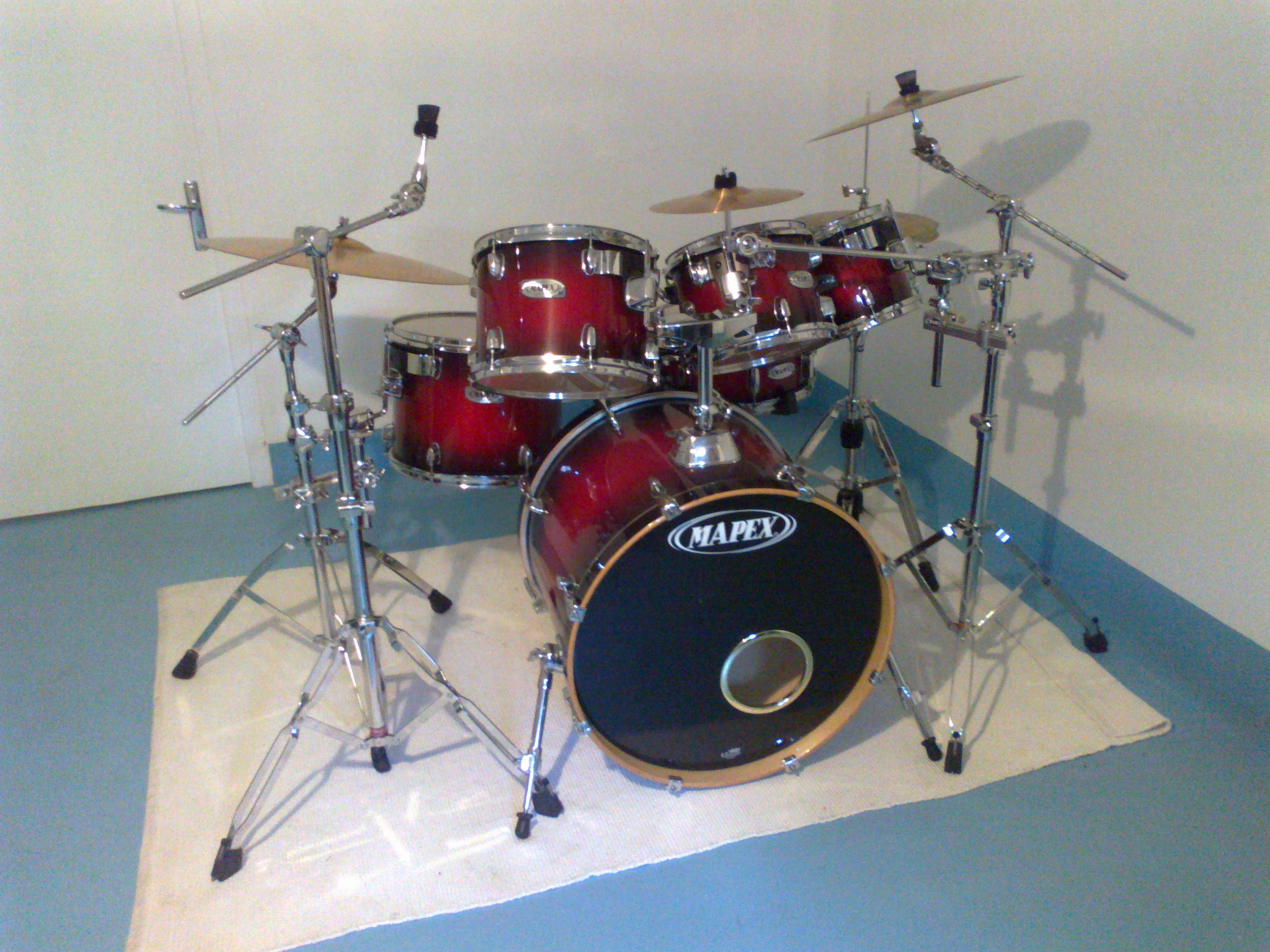 Pictures and images Mapex M Birch 6 fûts fusion 22