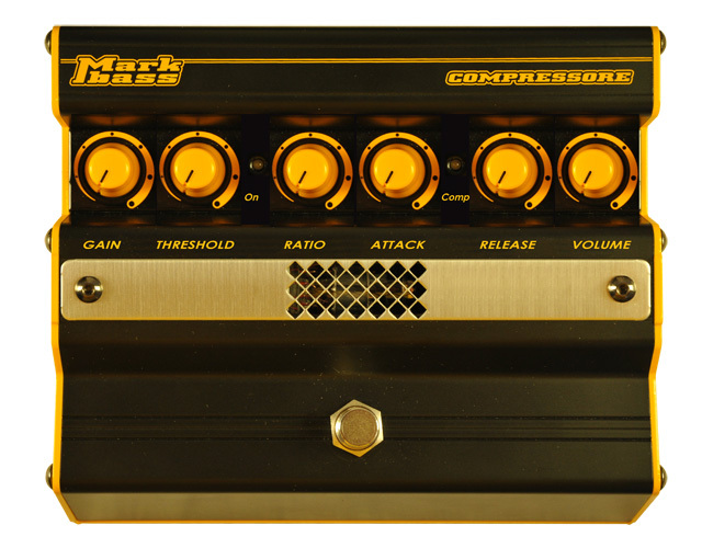 MarkBass compressore is a workhorse on stage - Reviews