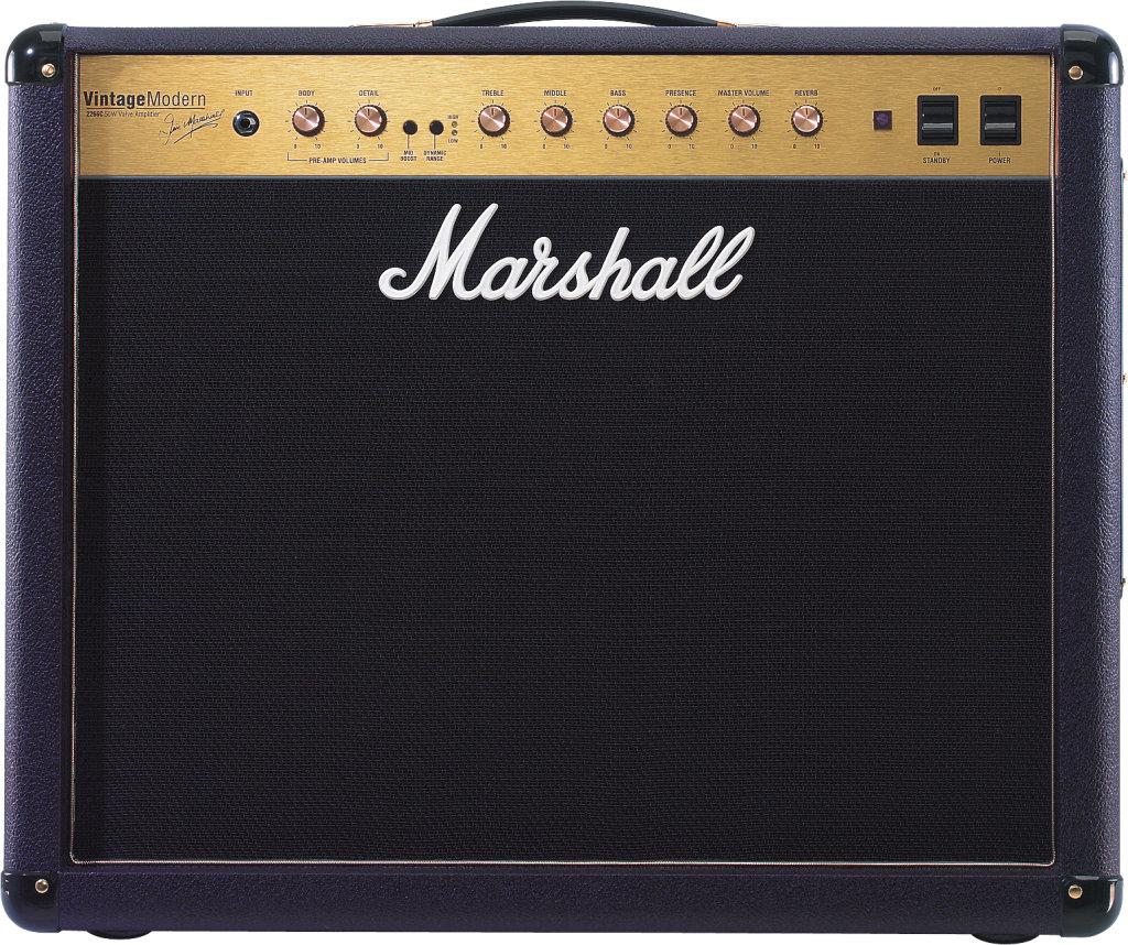 Tout lampe pour guitare marshall vintage modern vintage modern 2266c