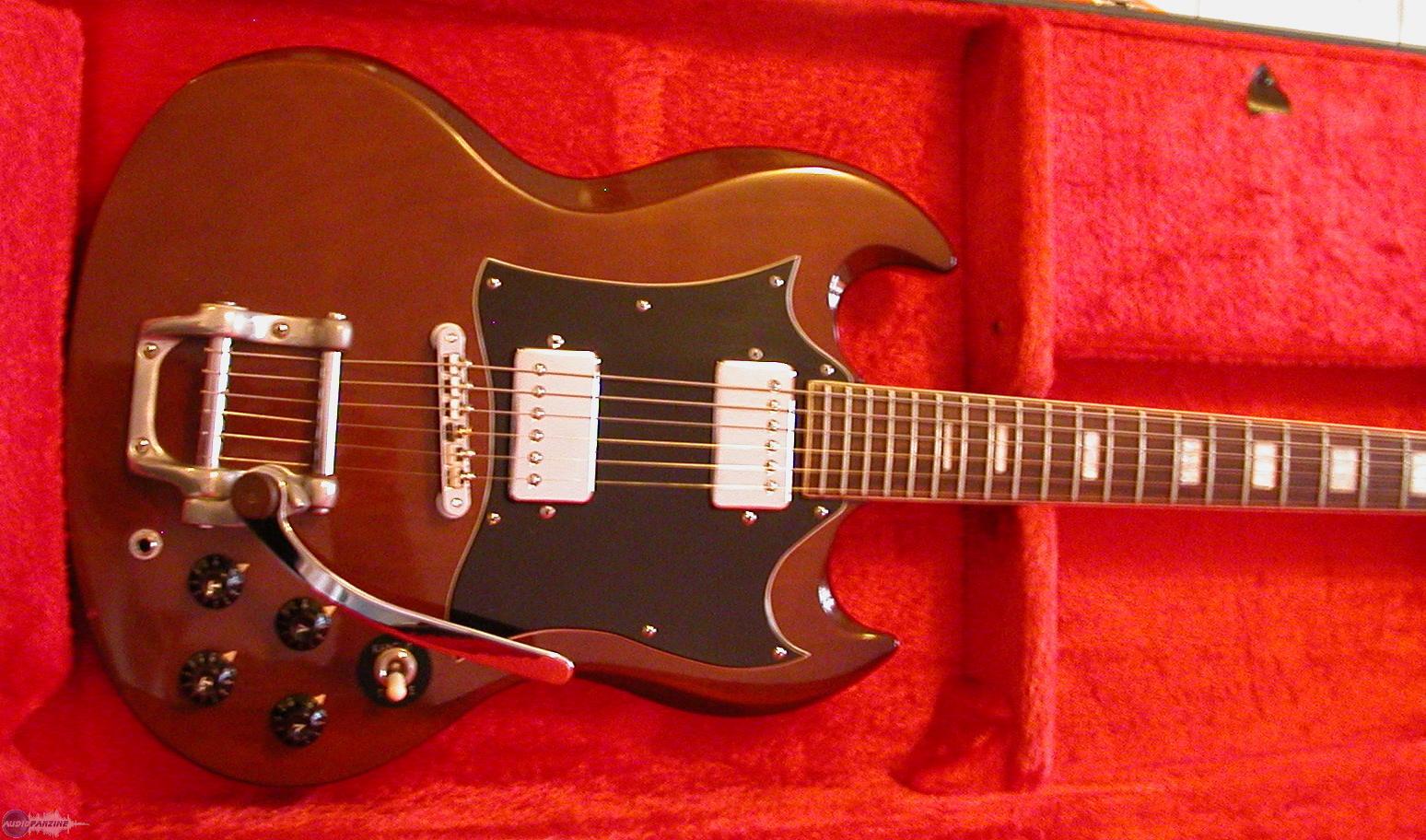 guitare electrique maya