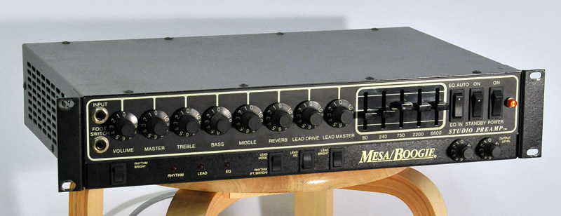 User Reviews Mesa Boogie Studio Preamp Audiofanzine
