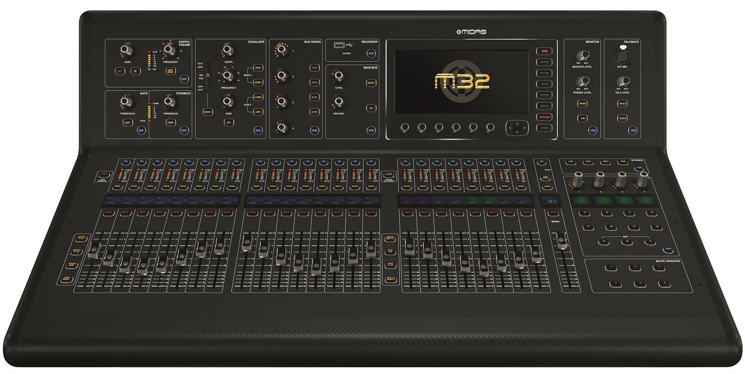 table de mixage midas m32r