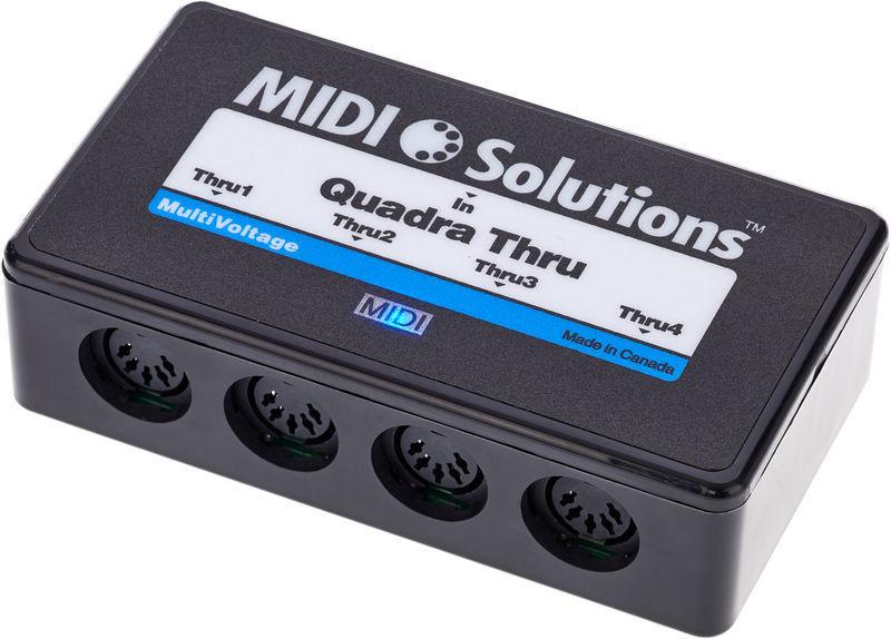 Midi Solutions Quadra Thru : quadra thru v2 midi solutions quadra thru v2 audiofanzine ~ Hamham.info Haus und Dekorationen