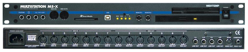 User reviews: MidiTemp Multistation MSX - Audiofanzine