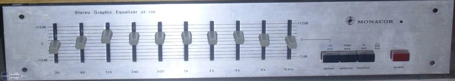 Avis de halfice01 - Monacor GE-106 - Audiofanzine