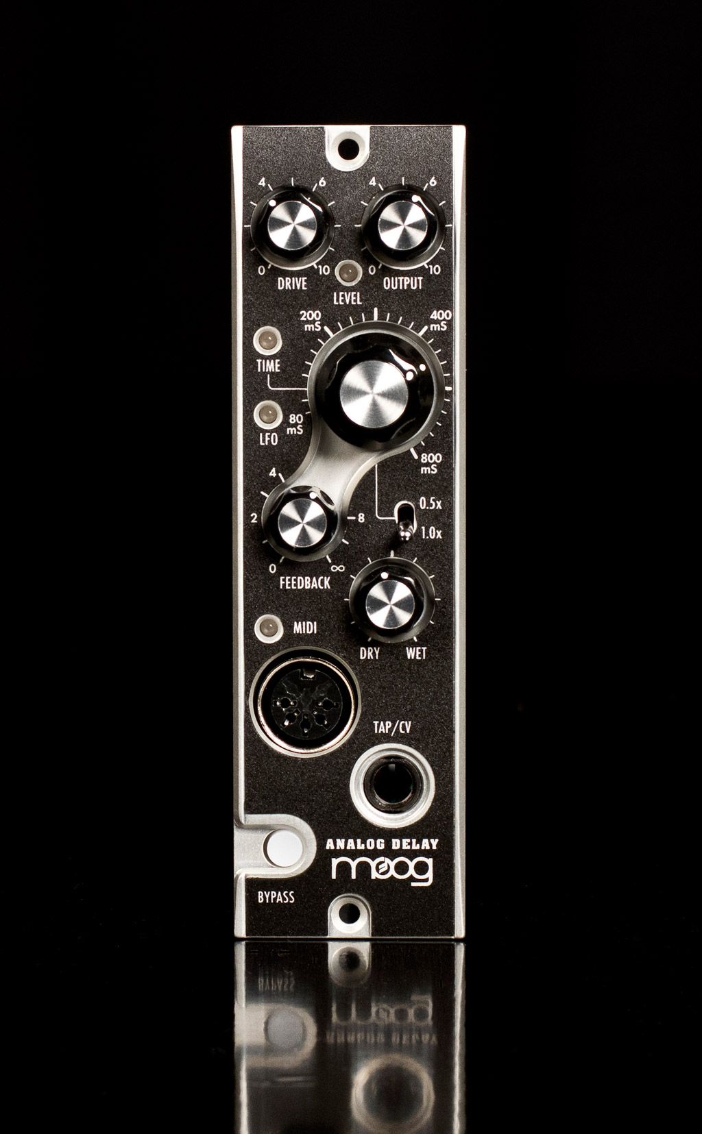 aes  moog music the delay 500 series module news