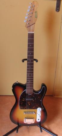 guitare electrique morris
