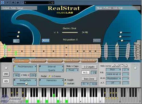 test of musiclab 39 s realstrat real fake strat audiofanzine. Black Bedroom Furniture Sets. Home Design Ideas