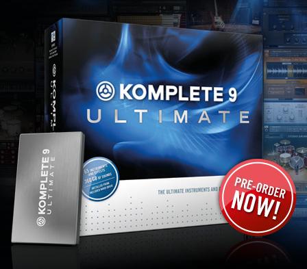 Komplete 9 ultimate download – Native Instruments