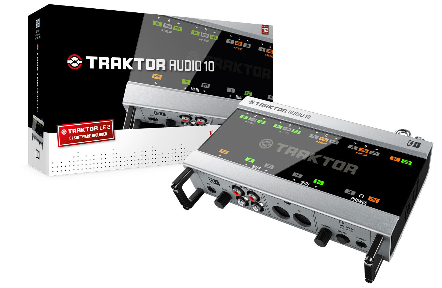 carte son traktor audio 10